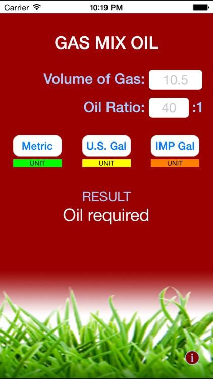 Gas Mix Oil