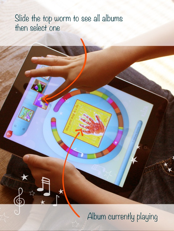 KidZik, music player for kids
