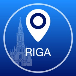 Riga Offline Map + City Guide Navigator, Attractions and Transports