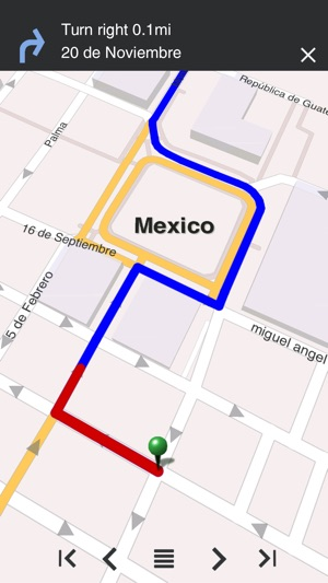 Mexico fline Map & City Guide w metro on the App Store