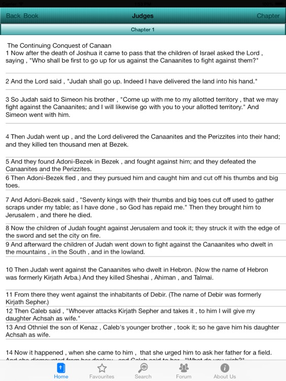 Holy Bible NKJV Offline for iPad screenshot-3