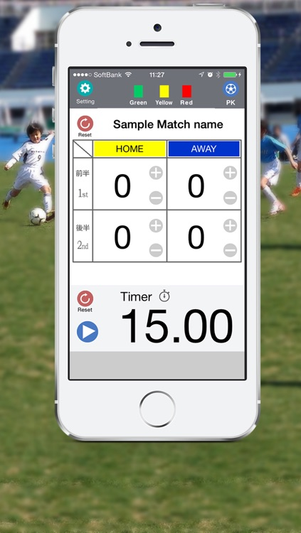 Soccer Score Board & Timer screenshot-0