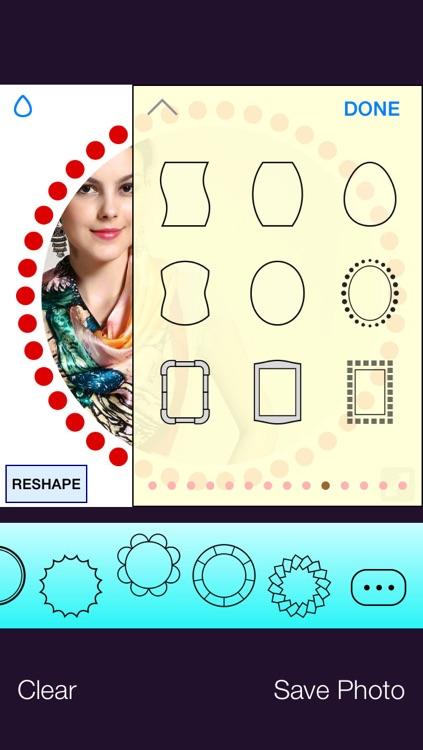 Frameo - circle photo, circle frames & more screenshot-3