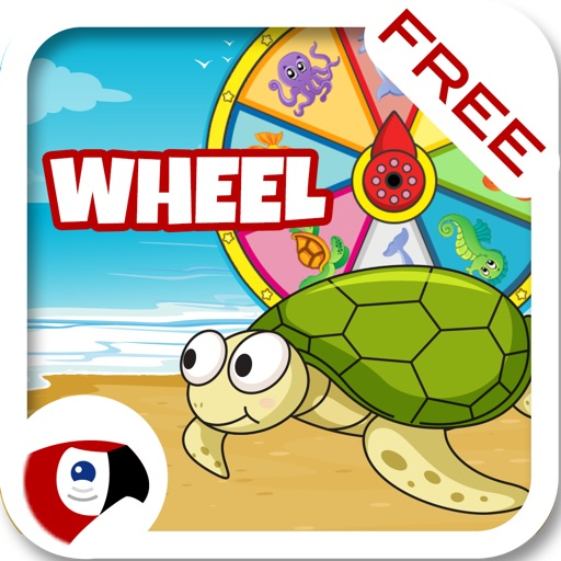 Talking Animals Wheel: Listen and Learn Words for Kids - Alphabet for Preschool - Macaw Moon
