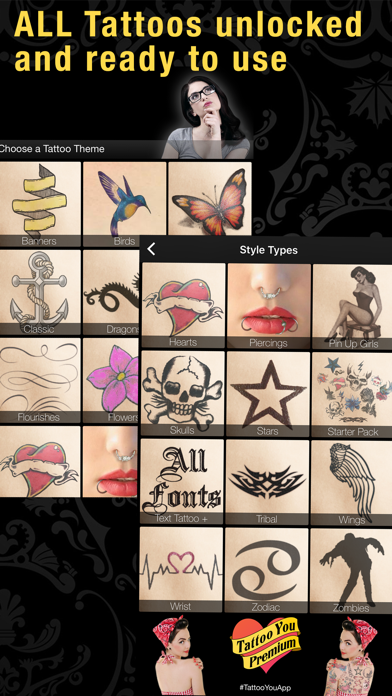 Tattoo You Premium review screenshots