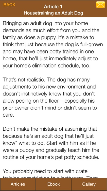 Dog Potty Training Guide - How To Potty Train Your Dog More Effectively screenshot-4