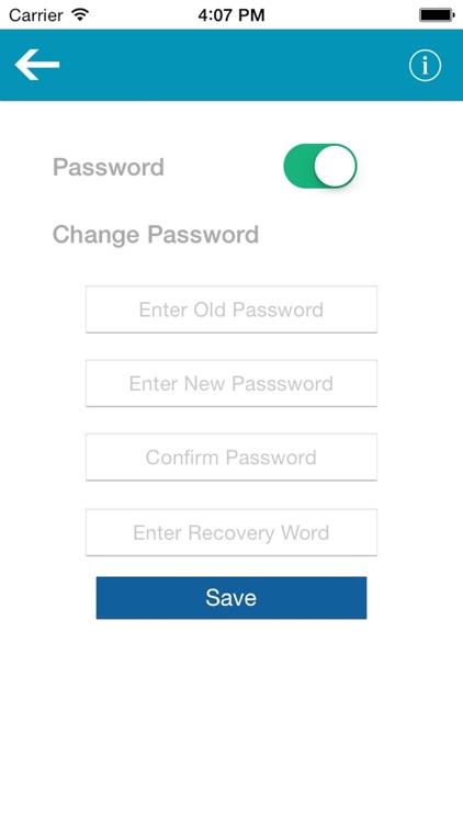 Passcode for Whatsapp messages screenshot-3