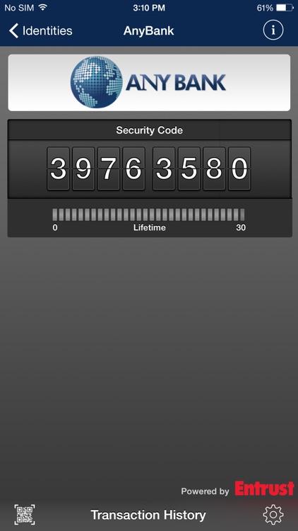 Entrust IdentityGuard Mobile