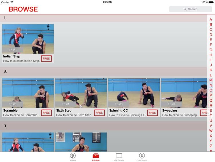 Hip-Hop Video Lessons: Break-Dance screenshot-3