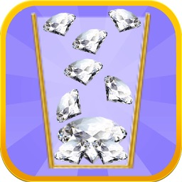 A Diamond Cup - Catch, Drop and Fill Your Jewels