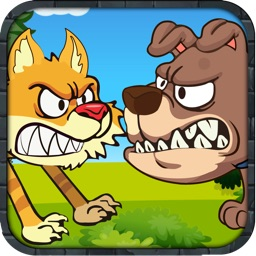Smart Cat Escape Rush - Angry Dumb Dogs Run Free