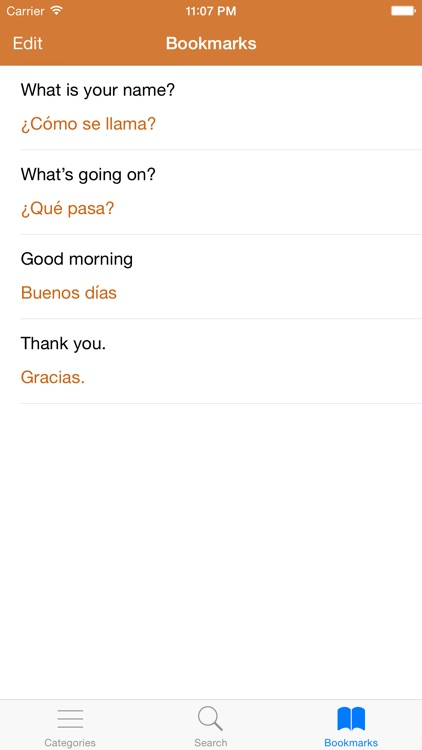 Spanish Phrasebook: Conversational Spanish screenshot-4