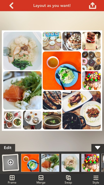 Frame Artist - Photo Collage Editor - Design scrapbook by pic layout with fx filter and stickers