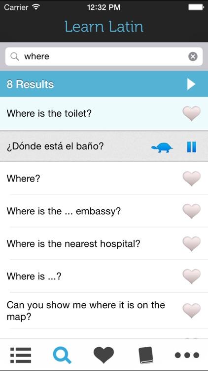 Learn Spanish (Latin American) - Phrasebook for Travel in Mexico and Latin America screenshot-3