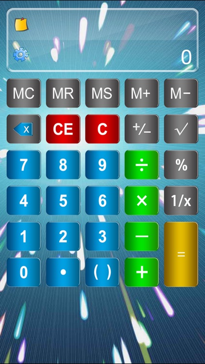 Calculator Elite Free - calcultor for ipad,iphone with smash hit formular display & paper tape