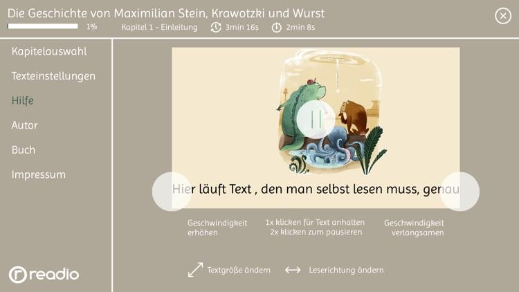 Readio Book: Maximilian Stein screenshot-3