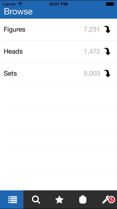Unofficial Minifigure Catalog Screenshot