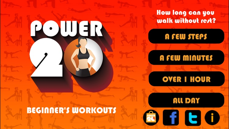20 Minute Beginners Workout screenshot-1