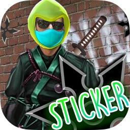 Ninja Sticker - Photo Editor & FX Editor & Frame Maker FREE