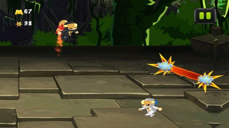 A Ninja Rocket Ride Running Jumping Flying Adventure screenshot-3