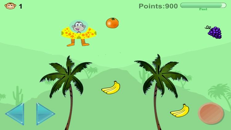 Super Monkey Lander - Jungle Game
