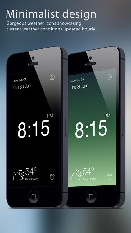 Clock IT - Modern Nightstand Music Alarm
