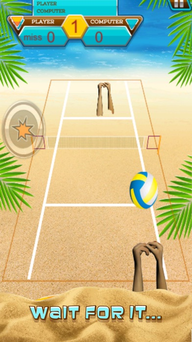A Volleyball Beach Battle Summer Sport Game-2