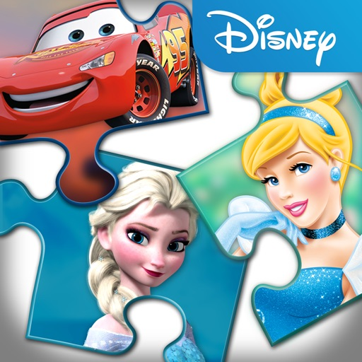 Disney Puzzle Packs with Elsa, Anna, Olaf & Sven from Disney's Frozen