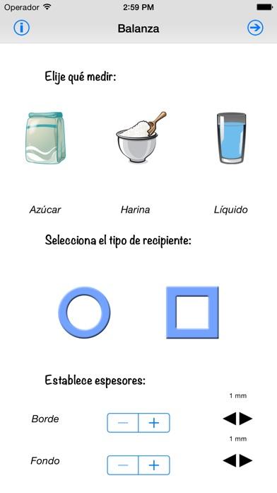 Screenshot for Balanza de cocina in Mexico App Store