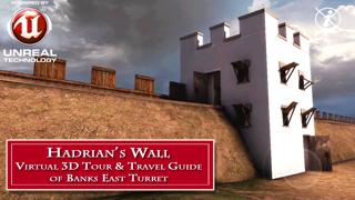 英国ローマ軍の要塞。ハドリアヌスの長城 - 銀行東タレットのバーチャル3Dツアー&トラベルガイド(Liteバージョン)のおすすめ画像1