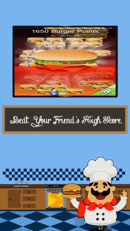 Hamburger Clickers: Yummy Order Maker Mania