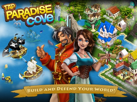 Tap Paradise Cove: Explore Pirate Bays and Treasure Islands на iPad