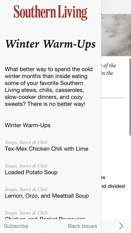 Southern Living Seasonal Recipes