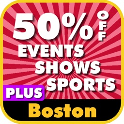 50% Off Boston & New England Events, Shows & Sports Guide Plus by Wonderiffic ®