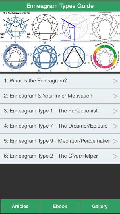 Enneagram Types Guide - Discovering Your Personality Type !