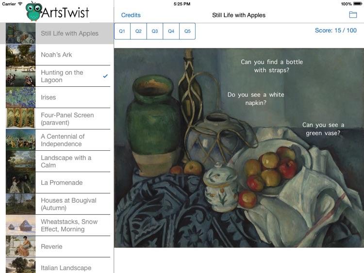 ArtsTwist Find It Getty
