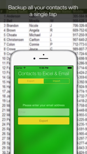 Contacts Backup for Excel on the App Store