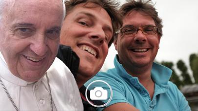 Screen Shot Pope Selfie 2