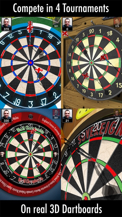 Bulls i 3D Darts screenshot-1