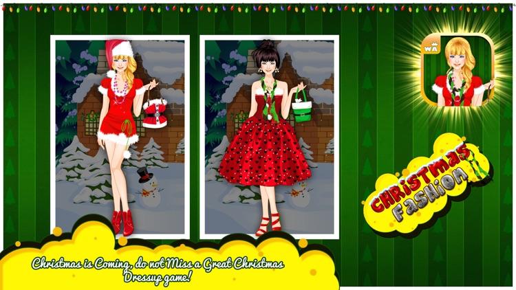 Christmas Fashion Dress Up screenshot-3