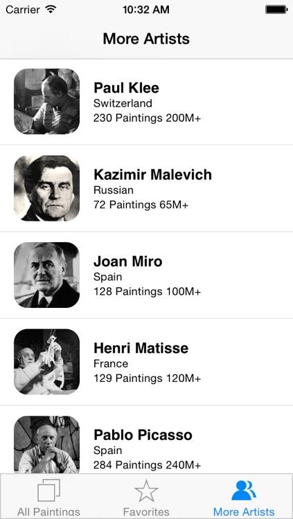 Kandinsky 111 Paintings HD 100M+ Ad-free screenshot-4