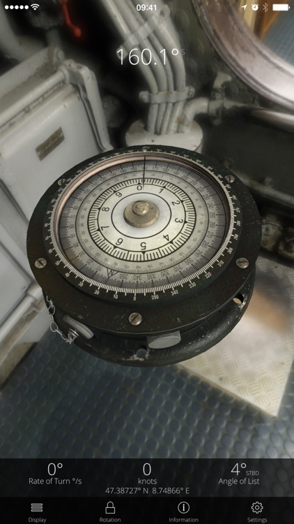 WOTA: U-Boat Compass screenshot-4