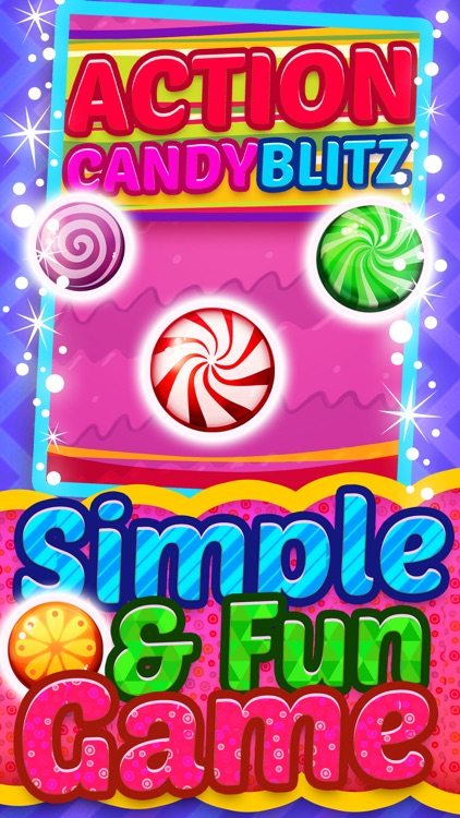 Action Candy Blitz 2015 - Soda Pop Match 3 Candies Game For Children HD FREE