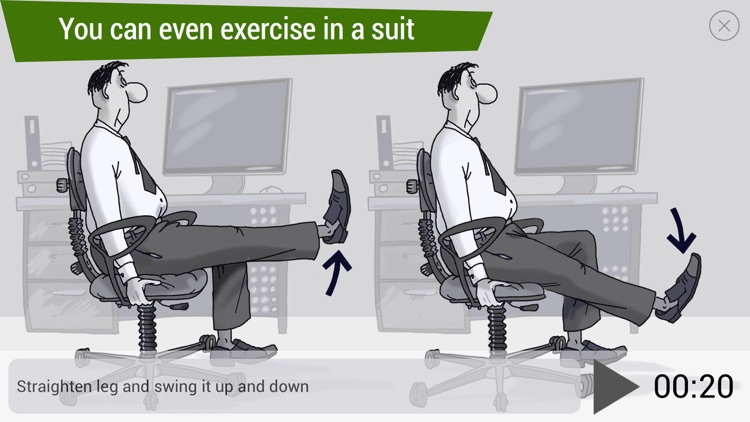Office Ninja: daily workouts for white-collar workers