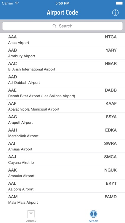 AviationABB - Aviation Abbreviation and Airport Code screenshot-3