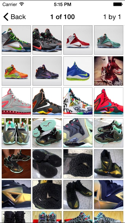 Lebron Shoe Edition - All Time Releases screenshot-2
