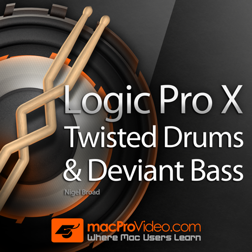 Learn EDM Drums and Bass for Logic Pro X