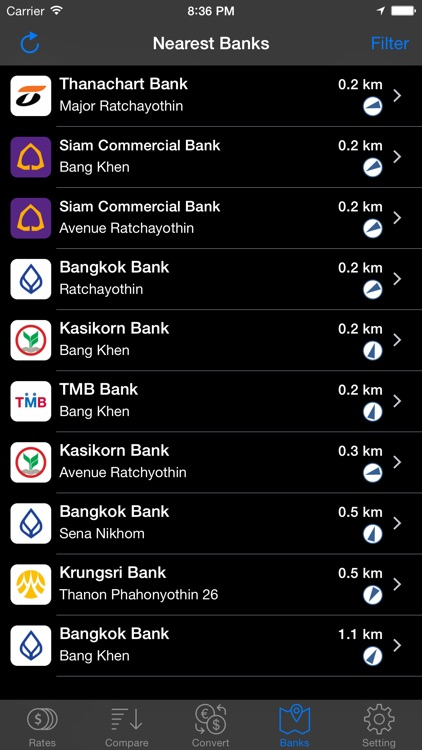 Thai Baht Exchange screenshot-3