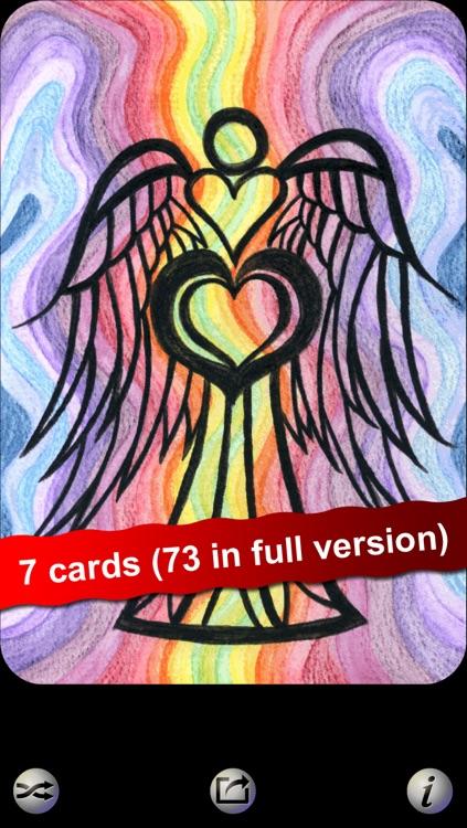 Angel Heart HD LITE Oracle Cards - Seraphina Elvenstone