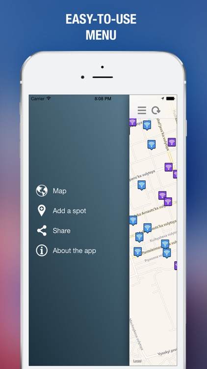 Wi-Fi Spot. Opened and protected hotspots for cities of the world. Free offline guide screenshot-4
